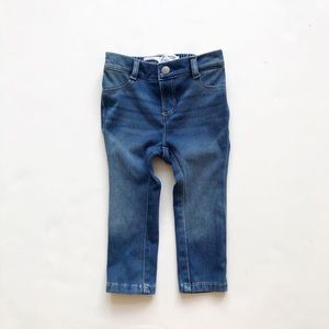 Old Navy medium wash ballerina jeggings GUC 18-24m